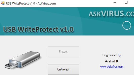 USB WriteProtect- interface