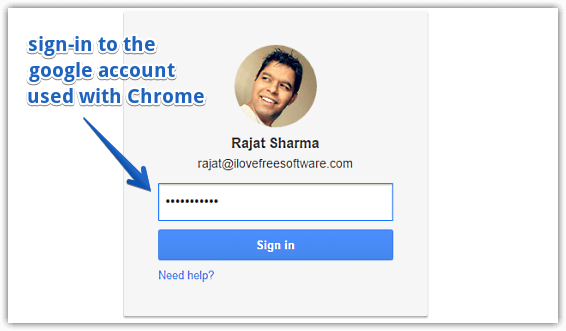 access google account