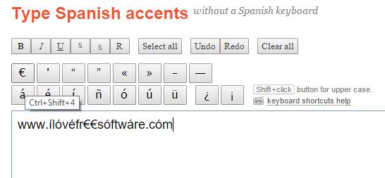 enter special symbols using hotkeys or mouse cursor