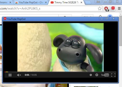 4 Floating Pop Out Video Players For Chrome