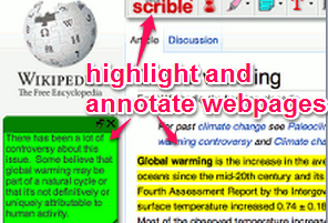 free website to highlight webpages and annotate webpages