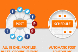 how to schedule posts on Facebook, Twitter, and Google+