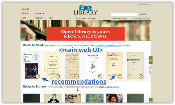 Online Book Catalog To Read, Download EBooks: Open Library
