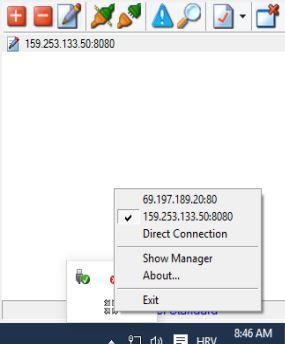 proxy switcher software windows 10 3