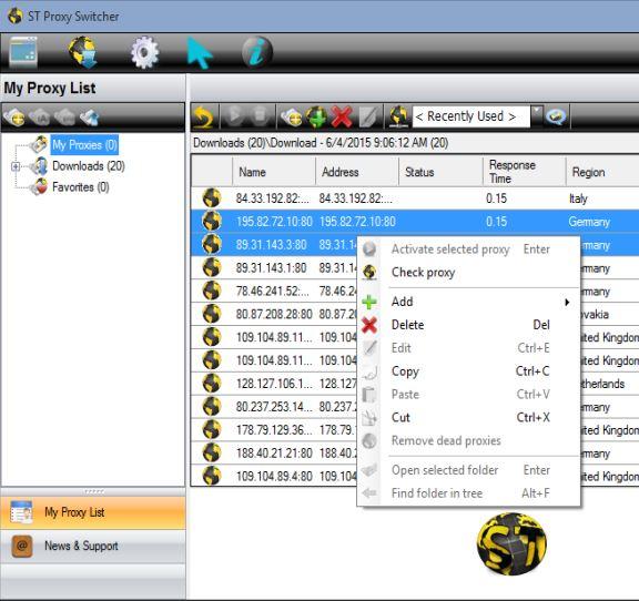 proxy switcher software windows 10 4
