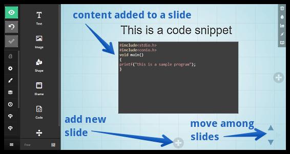 slides content added