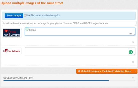 upload multiple images