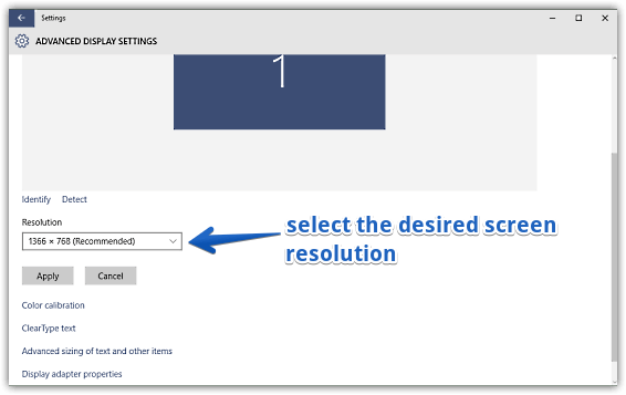 How To Change Screen Resolution In Windows 10?