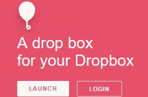 Balloon- drop box for Dropbox