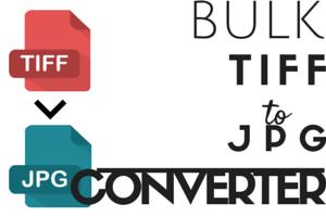 Bulk convert TIFF to JPEG