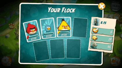 Cards Flock