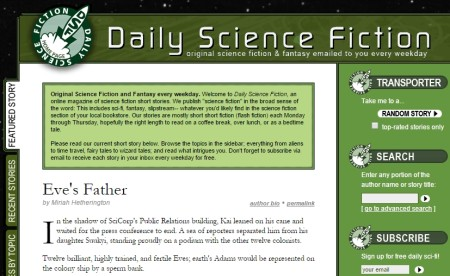 read science fiction stories