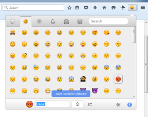 Firefox Plugin to Find and Use Emoji Codes on Twitter, Github