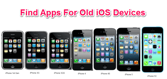 Find Apps For Old iOS Devices
