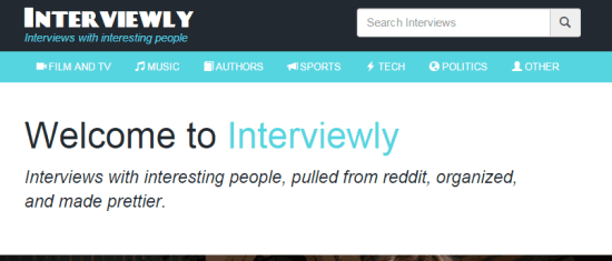 Interviewly Interface