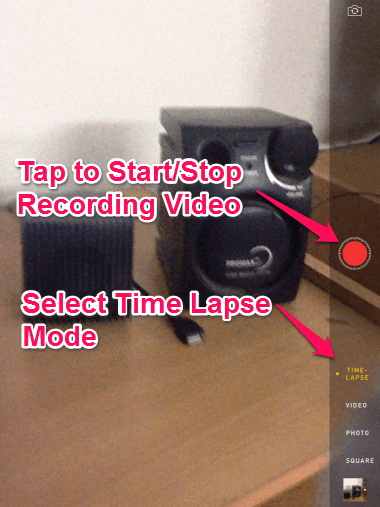 Recording Video And Selecting Mode