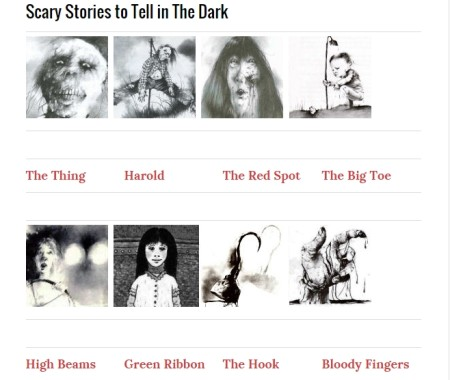 read scary stories online