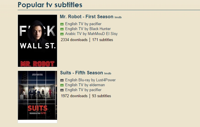 5 Websites To Download Subtitles For TV Series