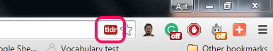 TLDR Chrome Extension