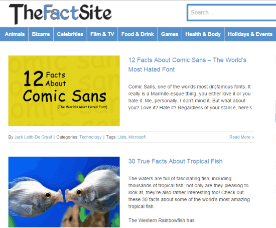 The Fact Site