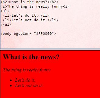 Using HTML Fire