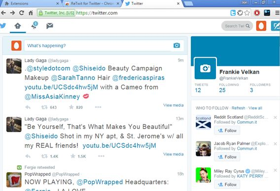 twitter ui customizer extensions chrome 4