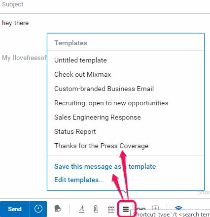 use templates