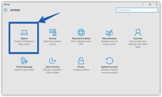 windows 10 modern settings_system