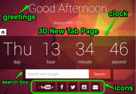 3d new tab