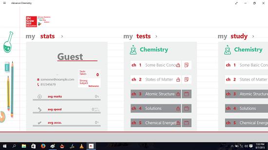 Advance Chemistry loaded