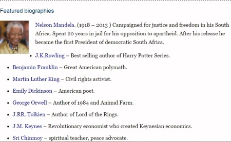 read biographies of famous people