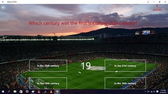 (E)Sports Quiz question