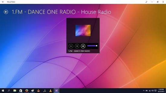 House Radio playback