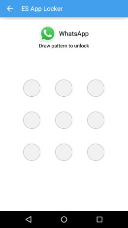 Locked App Interface