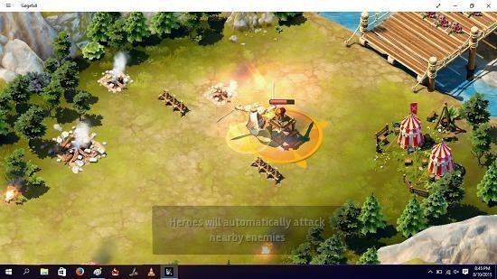 Siegefall battle