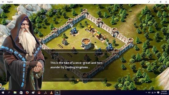 Siegefall main screen
