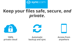 Sync.com- free online cloud storage with 5 GB free space