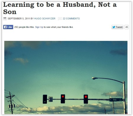 lessons to become a better husband