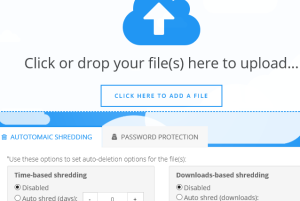 Upload GURU- free large file sharing website