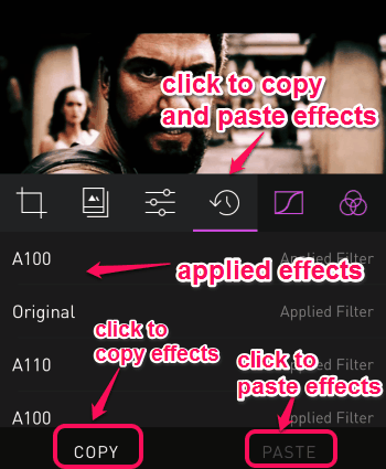 copy and paste effects