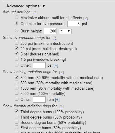 explore Advanced options
