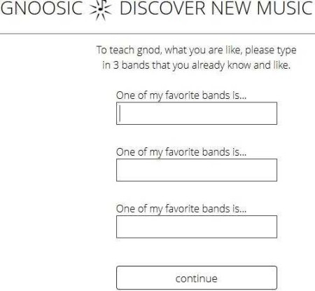 gnoosic music bands