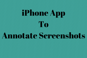 iPhone AppToAnnotate Screenshots1