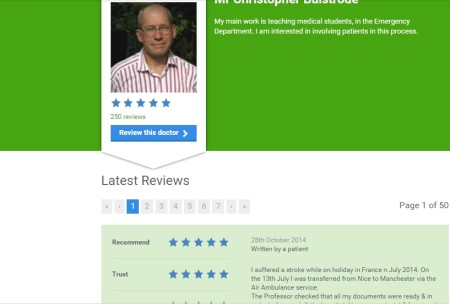 read reviews about doctors