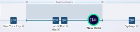 mymeeting time business hours