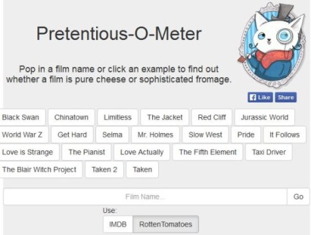 pretentious-o-meter homepage1