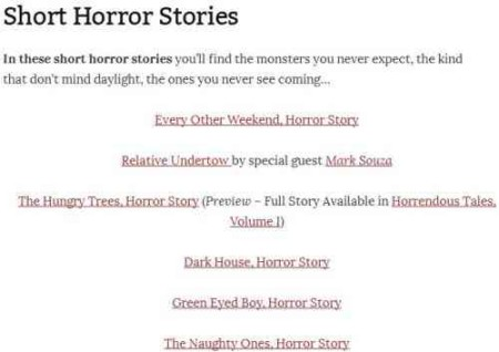 thescarystory horror stories