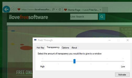 window opacity software windows 10 1