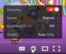 youtube autoplay settings