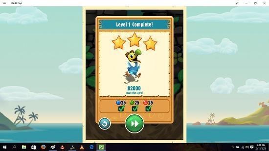 Dodo Pop level complete